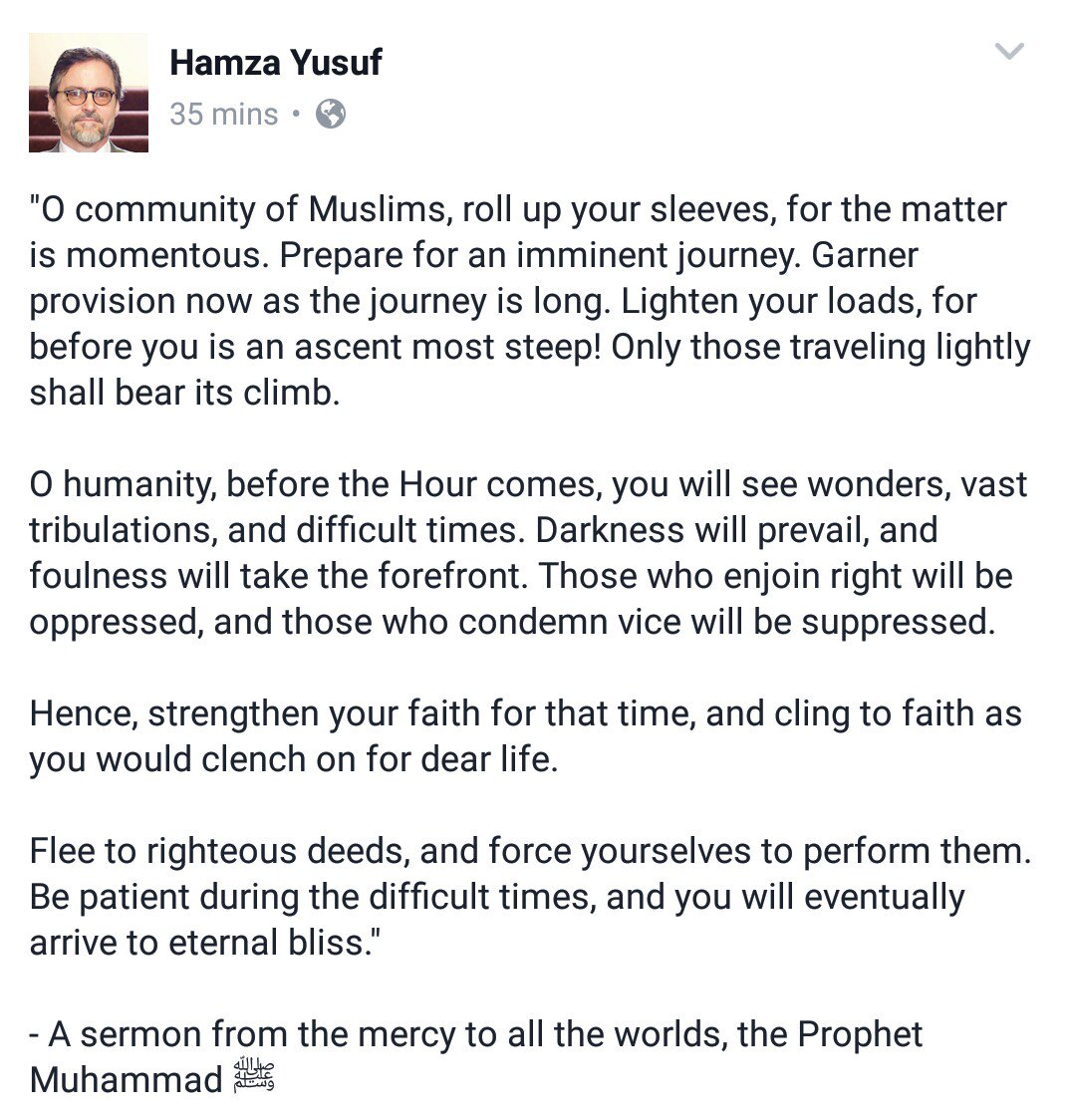 May Allaah protect all Muslims. https://t.co/S5T72FEPOE