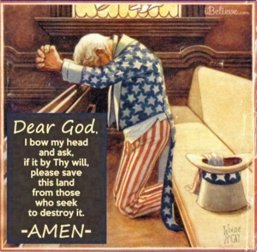 Dear God, Thank you for answering our prayers. A grateful Nation  #GodBlessAmerica🇺🇸 #PresidentTrump #ElectionDay