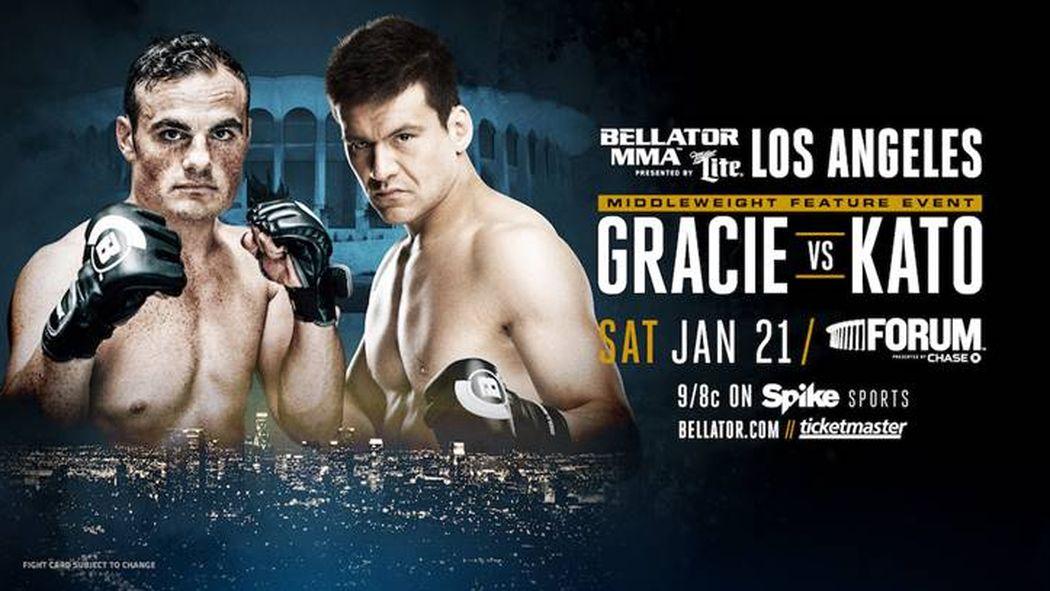 .@hisakialive will face @RalekGracie on the main card of #Bellator170 #OrtizVsSonnen in Jan. https://t.co/zrlkBmjtDt https://t.co/kpGAW3eMVN