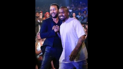 He's keeping 'Ye in his thoughts