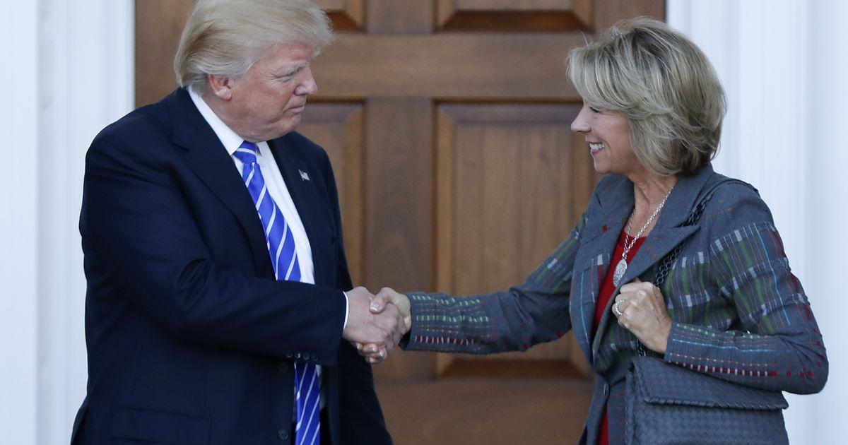 Trump picks DeVos to be Education secretary