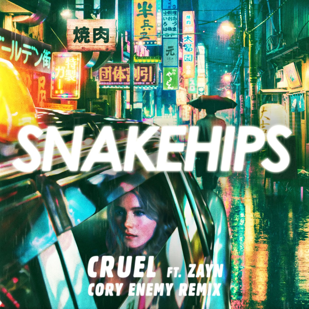"""I did a remix for my boys @snakehipsuk for their song """"Cruel""""  with @zaynmalik check it! https://t.co/MmYEVGmRk4 https://t.co/30IL2FjRe0"""
