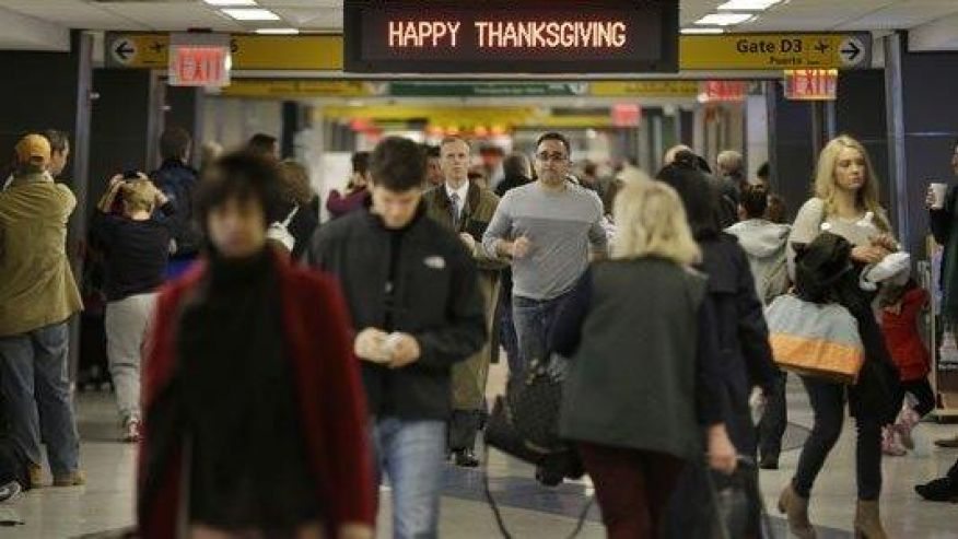 Thanksgiving travel expected to be heaviest since 2007