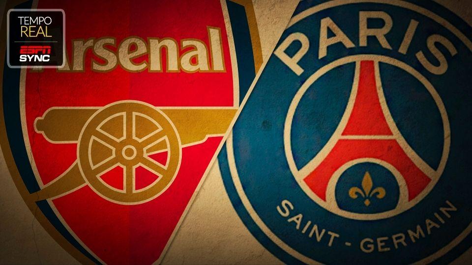Arsenal x PSG