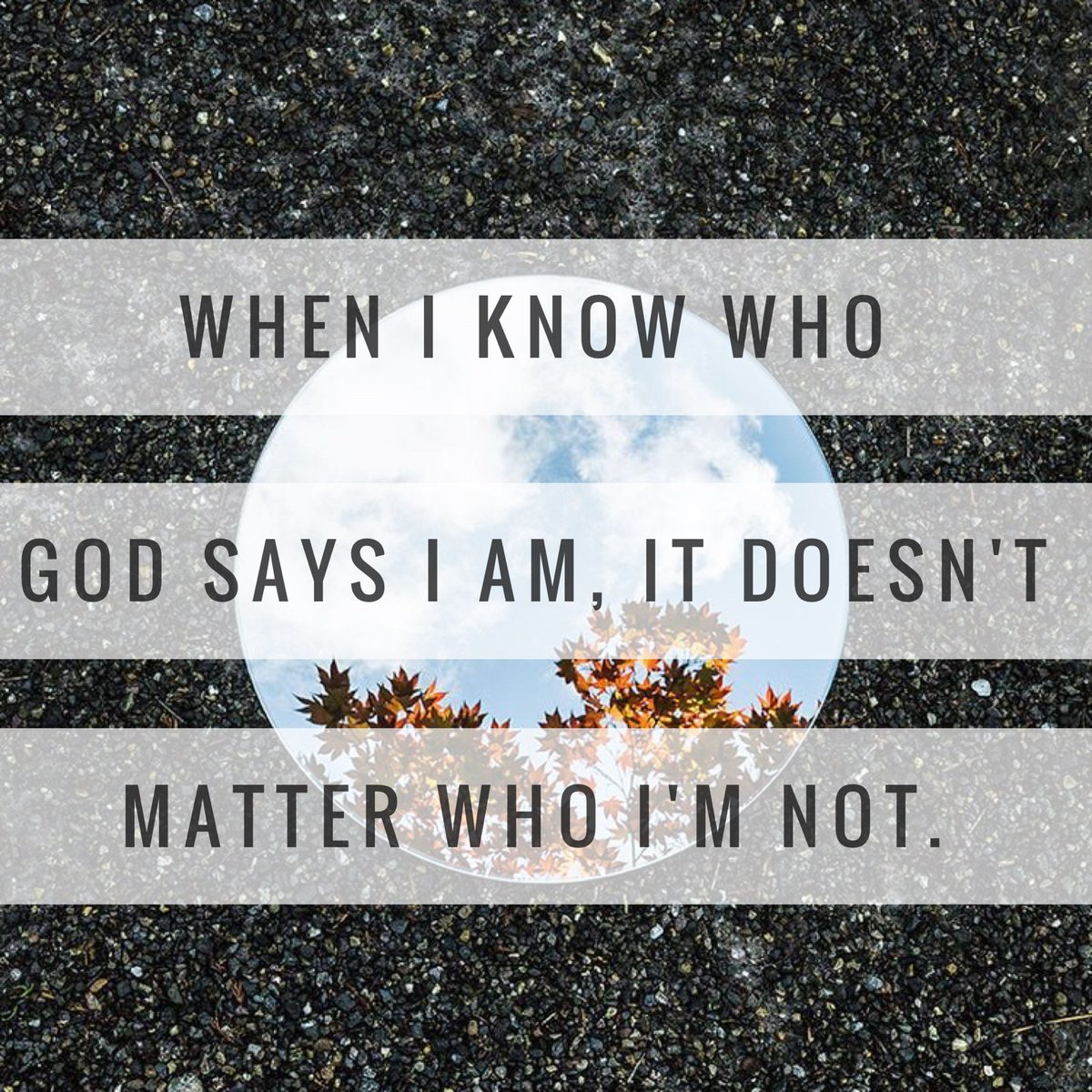 There's a difference in who you are and whose you are... https://t.co/iPL3Xp3JHO