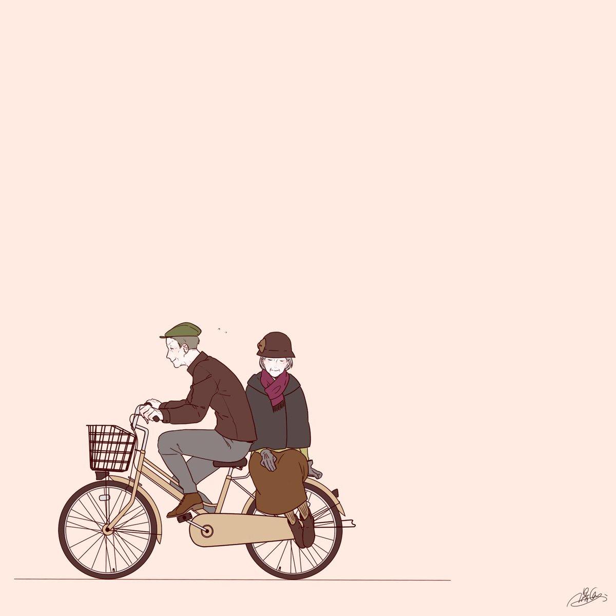 いい夫婦の日、せっかくなので便乗して画集の中の1枚!#いい夫婦の日 https://t.co/RUSwglDvFD