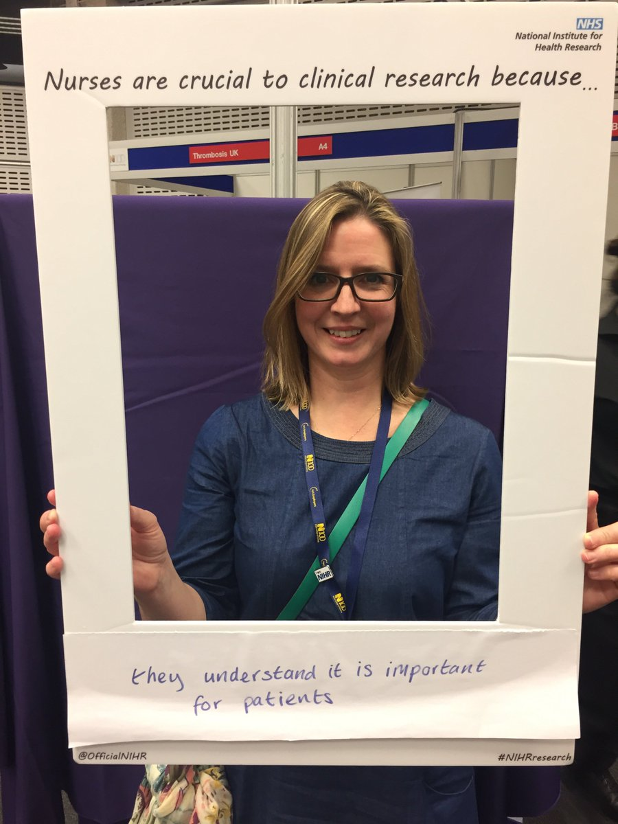 """Nurses are crucial to clinical research because they understand it is important for patients"" #RCNICC16 https://t.co/jtrSC5x8vZ"