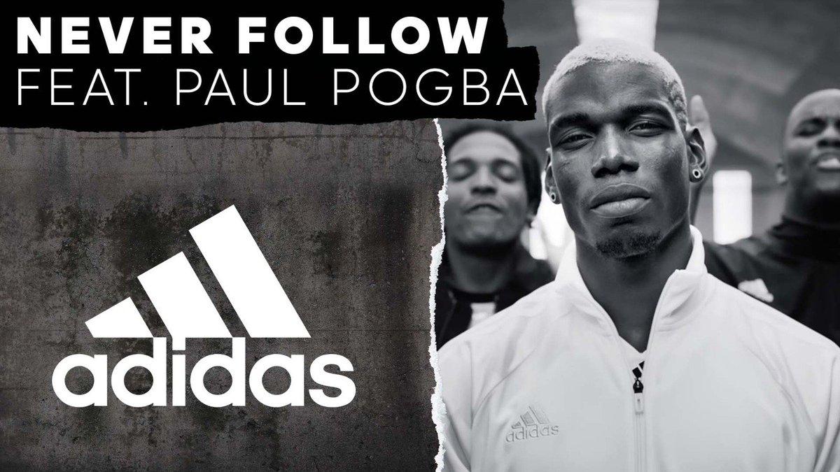 He's @paulpogba. You be you. #NeverFollow https://t.co/pFT2VLSm5e