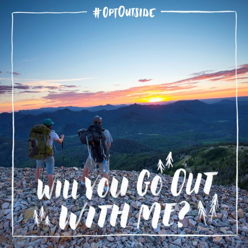 Black Friday is for hitting the slopes and trails, so that's where we'll bee.  Will you #OptOutside with us? @REI https://t.co/8PLtmBtwsm