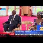 President flies to Uganda to enter trade talks with Yoweri Museveni