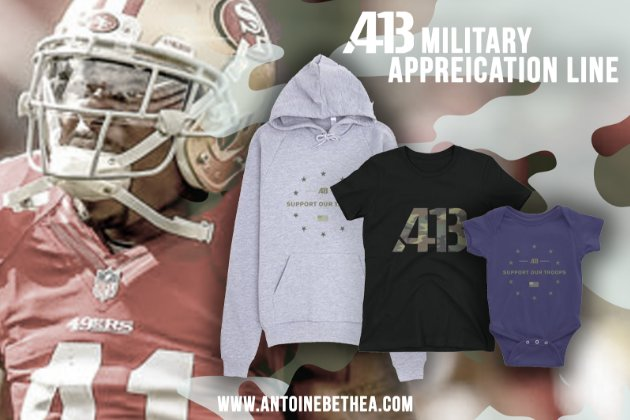 Introducing the #AB41 military appreciation line! Exclusively at https://t.co/xchGYx3Enm https://t.co/CtyoiTdIiD