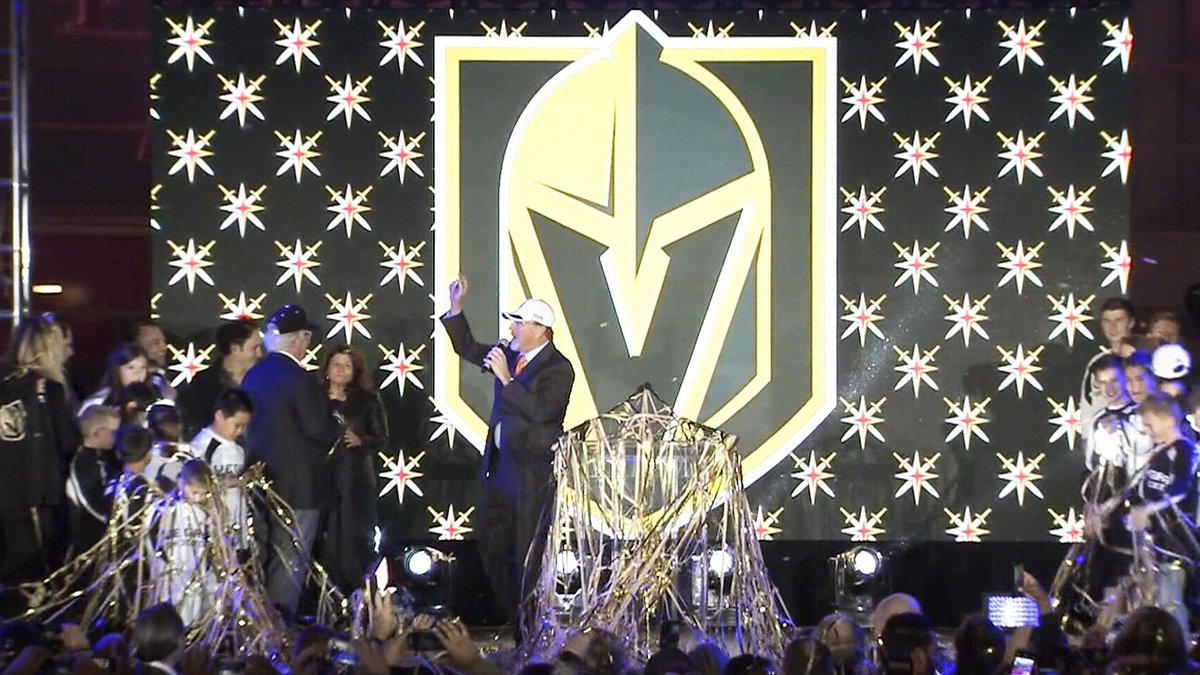 It's official: Las Vegas NHL franchise to be named Vegas Golden Knights