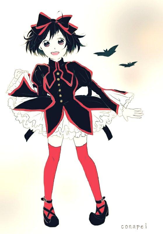 『黒魔女さんが通る』のチョコ、懐かしくなって描いてみた~