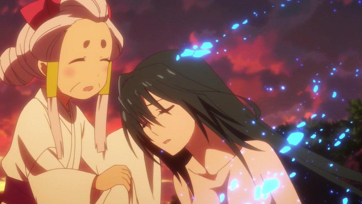 やよいさんエロすぎぃ... #matoi_anime #bs11