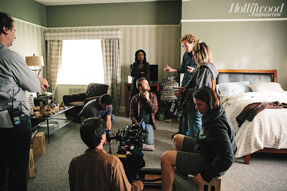 RT @THR: On the set of Hulu's #ThePath: