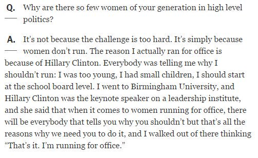 """Nikki Haley in 2012 to NY Times: """"The reason I actually ran for office is because of Hillary Clinton"""" https://t.co/alhyjxB2ou"""