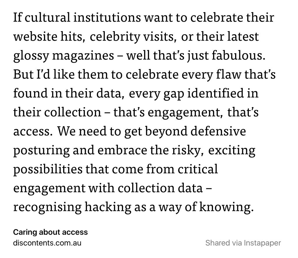 More of this please. Always good sensible words from @wragge #musetech  https://t.co/ZUWNIo2E24 https://t.co/5iNb2vFaxm