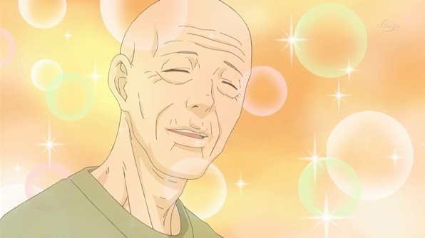 「斉木楠雄のΨ難」6x。ほんとどうでもいい話なんですけど、今回の鳥束零太が主人公の話で最初に出てきたおじいさんの霊、「ア