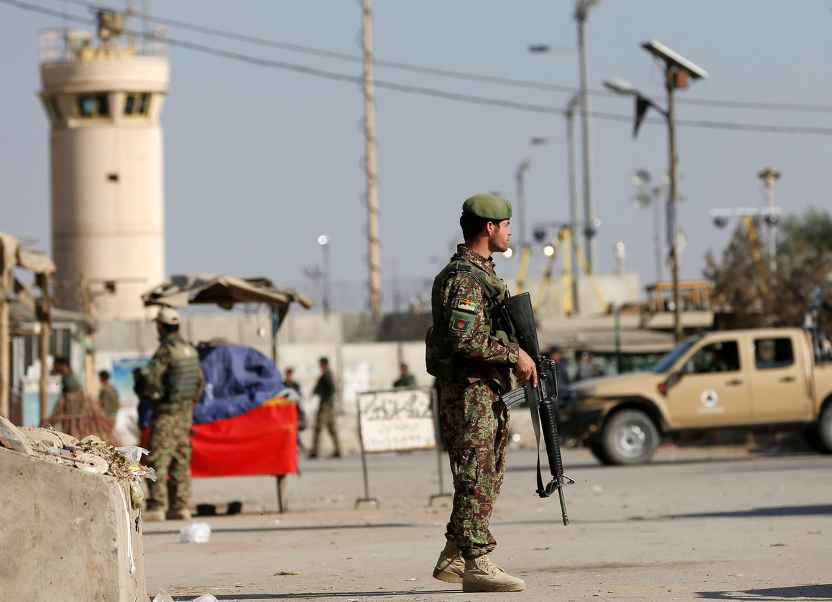 4 Americans killed by Taliban suicide bomber in Afghanistan