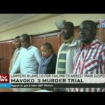 Mavoko 3 murder trial: Lawyers blame i.g for failing to arrest main suspect