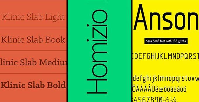 60 Best Free Fonts of 2017fonts freebies bestfreefonts  typography freebie