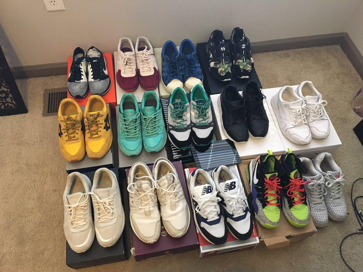 Bunch of kicks to sell 10-11 https://t.co/r2N1RtFih8