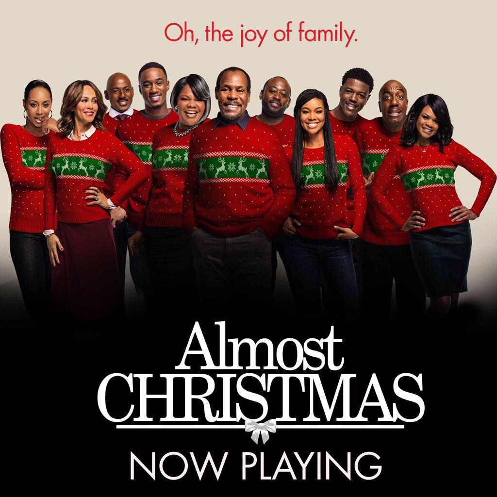 Go support my fam @KeriHilson @itsgabrielleu in their new movie #AlmostChristmas IN THEATERS NOW. #SupportQuality https://t.co/4TNxbux5IC