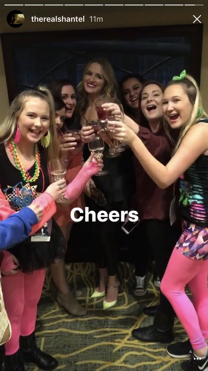 """""""Cheers"""" @TheRealShantel had a blast there https://t.co/RjKmRozbNl"""