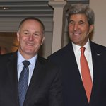 Kerry says he'll continue with anti-global warming efforts