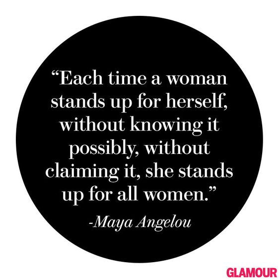 We share a lot of Maya Angelou's quotes. And we don't apologize for it. The power of her words will always resonate. https://t.co/xGS61rcsxn