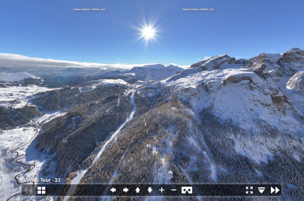 Ob links oder rechts, oben oder unten - der #Schnee ist da! #VR #360 https://t.co/qjxUuU3zRp https://t.co/1oKOZlnLXt