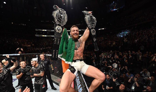#AndNew Lightweight Champion of the World @TheNotoriousMMA!  It is safe to say we no longer take part. #ufc205 https://t.co/gfEZQNyS0U