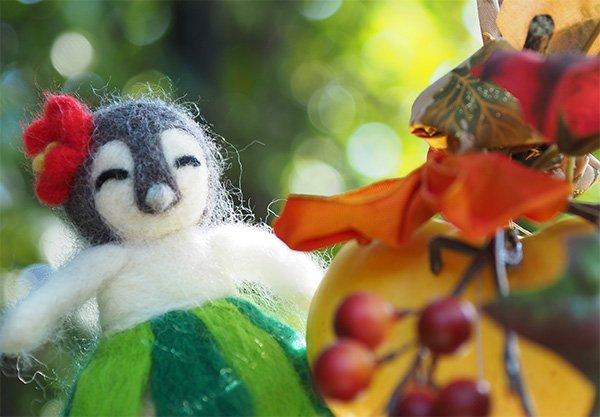 ファニービーゴー&フレンズの 羊毛フェルトマスコットキーホルダー他各種 minneで好評発売中!