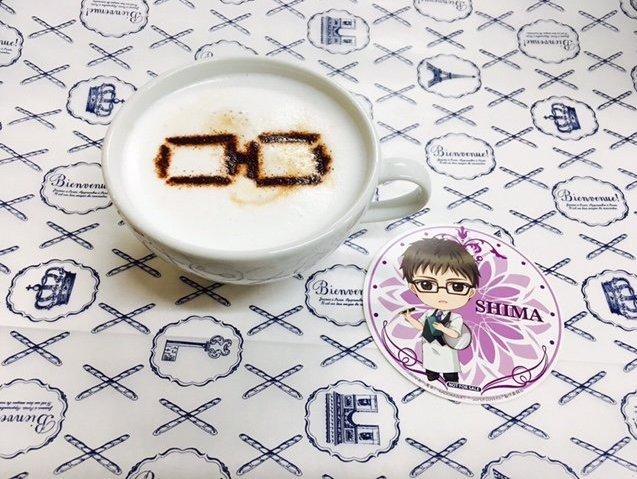SUPER LOVERS×プリンセスカフェコラボカフェ裏話。「蒔麻ドリンク」はスタッフさんが一つ一つ手作業で眼鏡を描いて