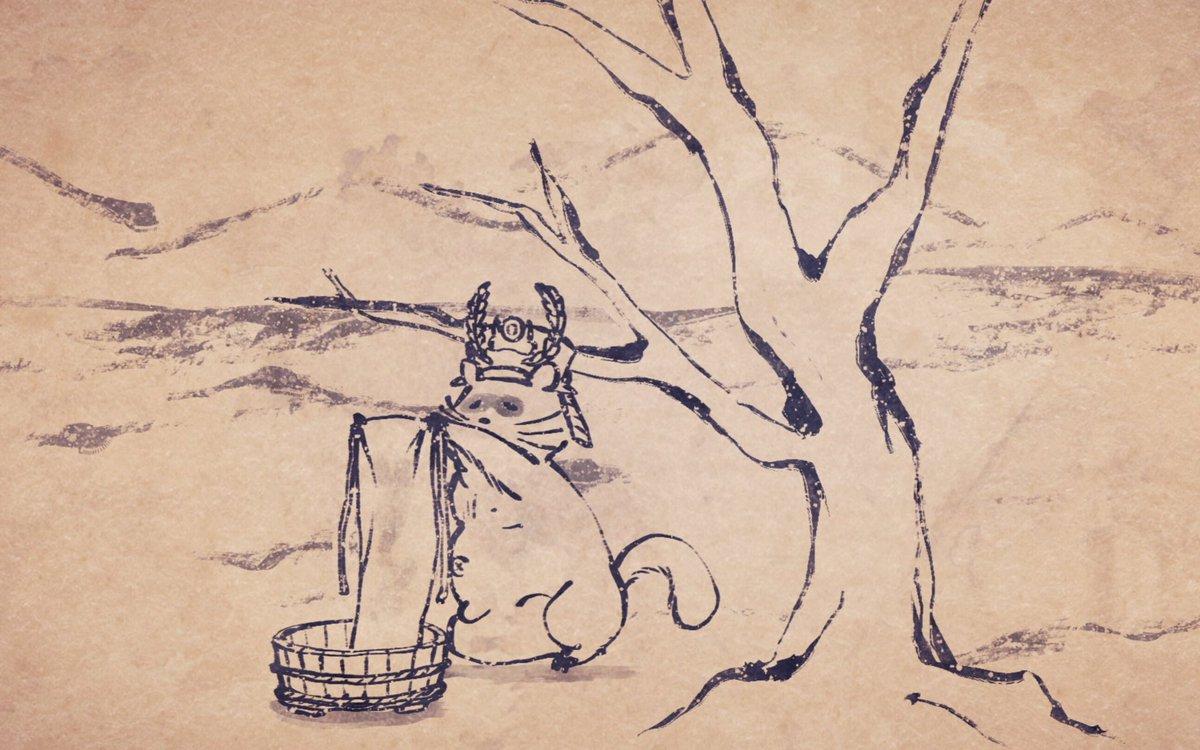 【第6話「僕のふんどし」配信開始!】お待たせしました!TVアニメ「戦国鳥獣戯画〜甲〜」第6話「僕のふんどし」が各配信サイ