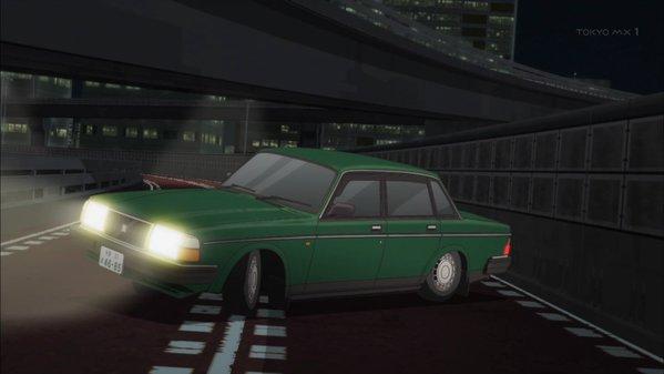 【作品】SHIROBAKO【人物】渡辺 隼【車種】ボルボ・240【年式】1986年~