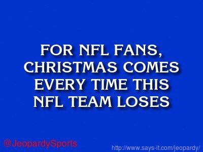 'Who are: the New England Patriots?'  #JeopardySports #SEAvsNE https://t.co/OhUuma8lNj