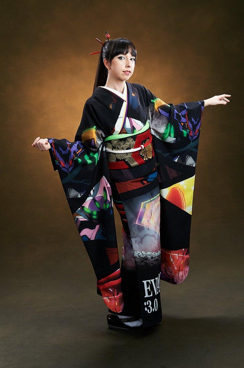 【気になる!】「エヴァンゲリオン新劇場版:Q」のキャラをデザインした着物「EVANGELION × Full Graph