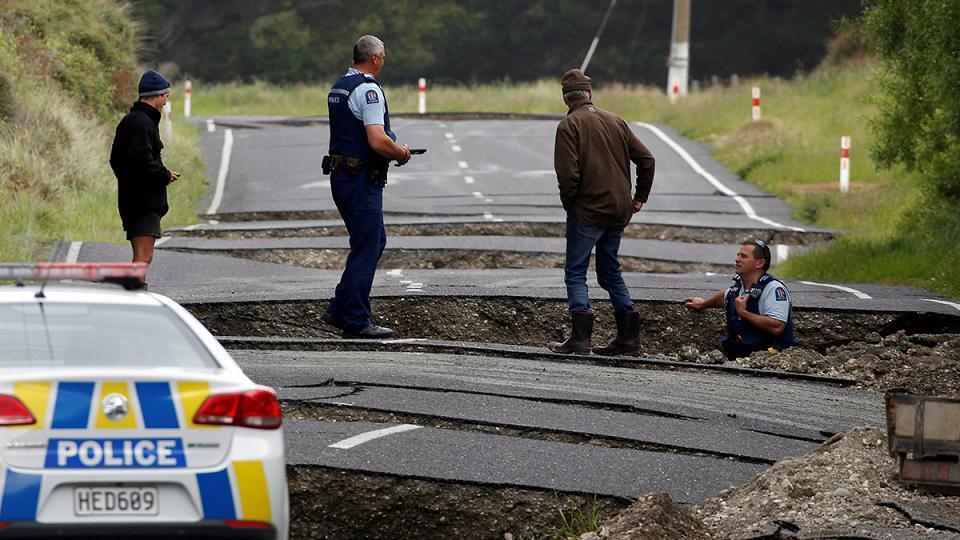 Second powerful earthquake rocks New Zealand
