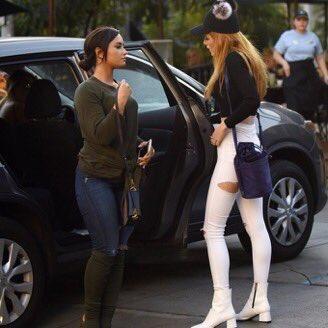 Demi e Bella Thorne