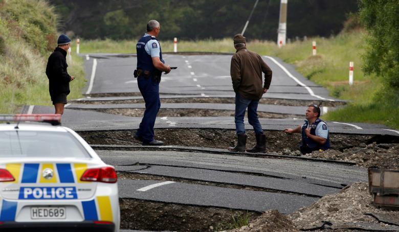 'Utter devastation' after 7.8 magnitude earthquake pummels central New Zealand: