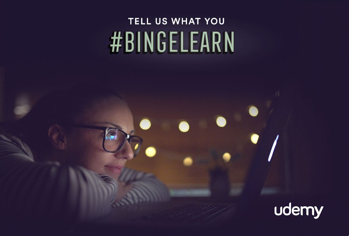 Get your learning lineup ready with $10 courses today and share what you would #bingelearn! https://t.co/BIanFQ4Pm3