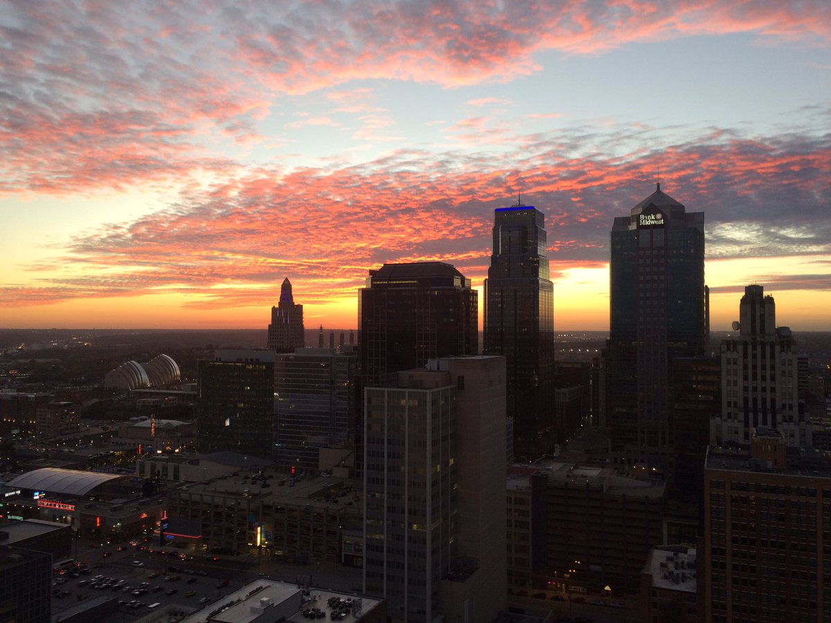 You are beautiful Kansas City!