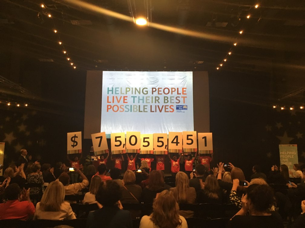 Thank you, St. Louis, for helping to raise an unprecedented $75,055,451 to help local people! #HelpingPeople #STL https://t.co/5szpSdfs2D