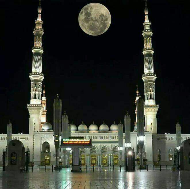 قمر الليله