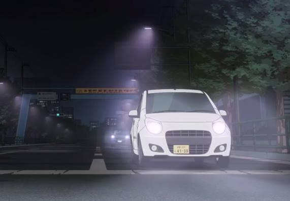 【作品】SHIROBAKO【人物】宮森あおい 佐藤沙羅【車種】スズキ・アルト【年式】2009年~ 7代目フロントマスクの