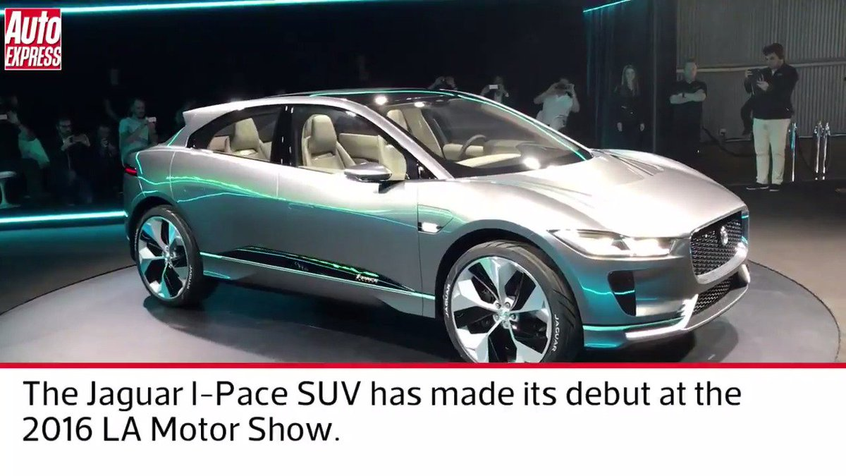 Jaguar Went Electric Overnight Here S The New Jaguar I Pace Suv
