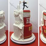 Geraldton couple gets married with an Emu Export wedding cake