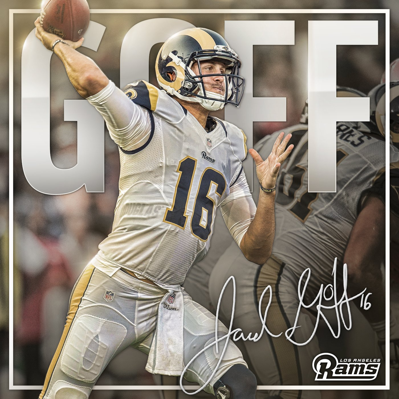 It's Showtime!  Rookie @JaredGoff16 named #Rams starting QB �� | https://t.co/GteV7jHGmm https://t.co/upcoxoAtLp