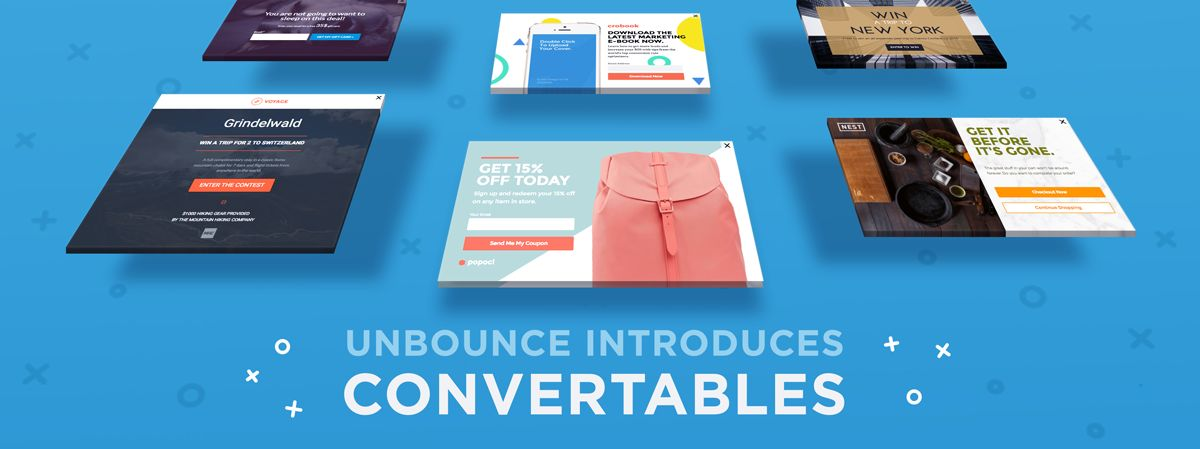 Introducing Unbounce Convertables: Get More Conversions from Every Page on Your Website